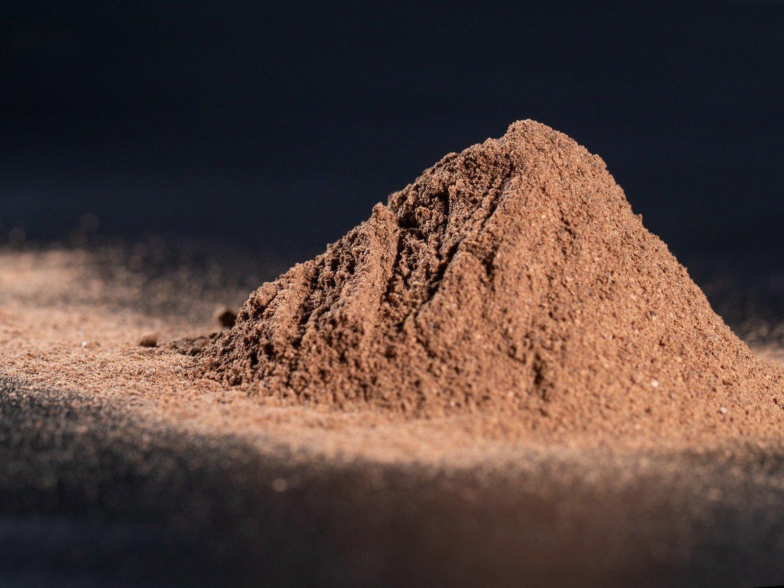 Natürliches Kakaoschalenpulver Ballaststoff 30 kg