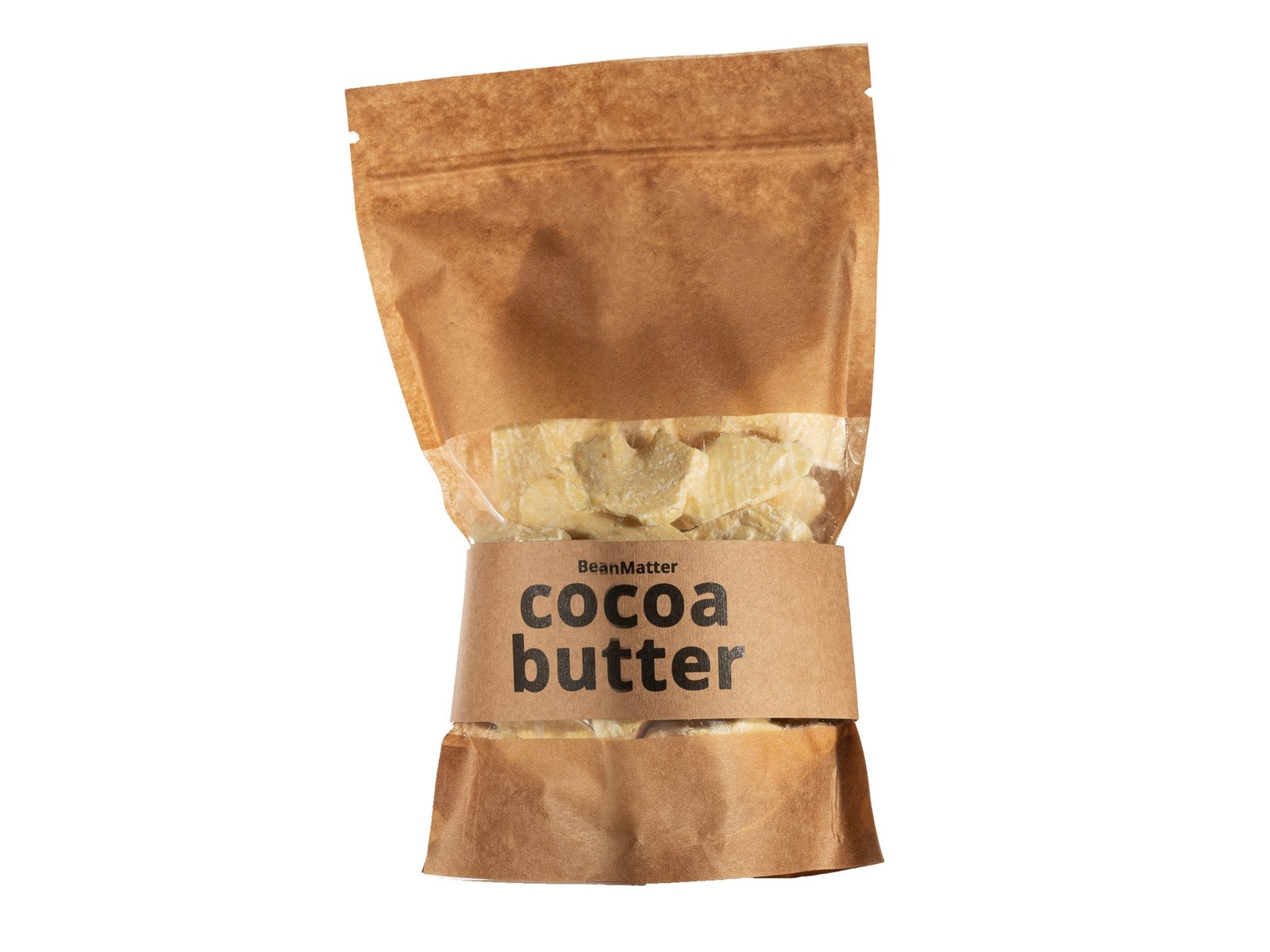 Naturalne Masło Kakaowe Nierafinowane 250g Ekwador